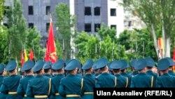 Кыргызстан аскерлери.
