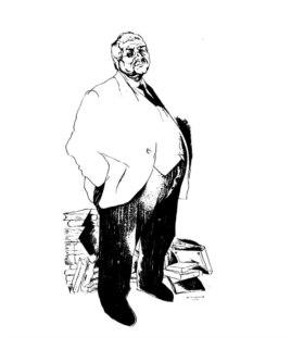Портрет П.Щеголева работы Ю.Анненкова