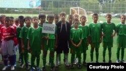 Воспитанники детско-юношеской спортивной школы города Жезказгана. Фото из личного архива тренера.