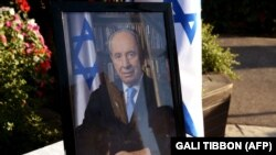 شیمون پرزرئیس جمهور سابق اسرائیل