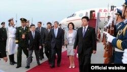 Официальный визит президента КР в Китай