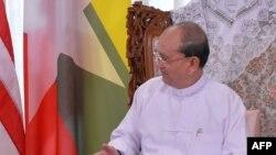 Претседателот на Бурма Теин Сеин