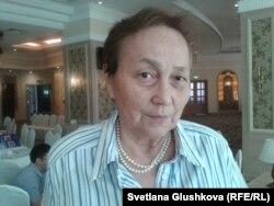 Гульнур Хакимжанова, президент Ассоциации социальных работников и волонтеров города Алматы. Астана, 26 июня 2014 года.