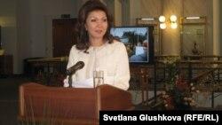 Депутат парламента Дарига Назарбаева, старшая дочь президента Казахстана.