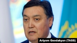 Kazakhstan's new prime minister, Asqar Mamin (file photo)