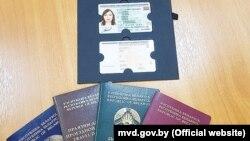 Прапанаваны дызайн новых беларускіх біямэтрычных пашпартоў і ID-картак