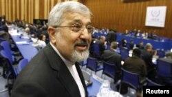 Представитель Ирана в МАГАТЭ Али Асгар Солтание в штаб-квартире этой организации в Вене, 8 марта 2012 г.