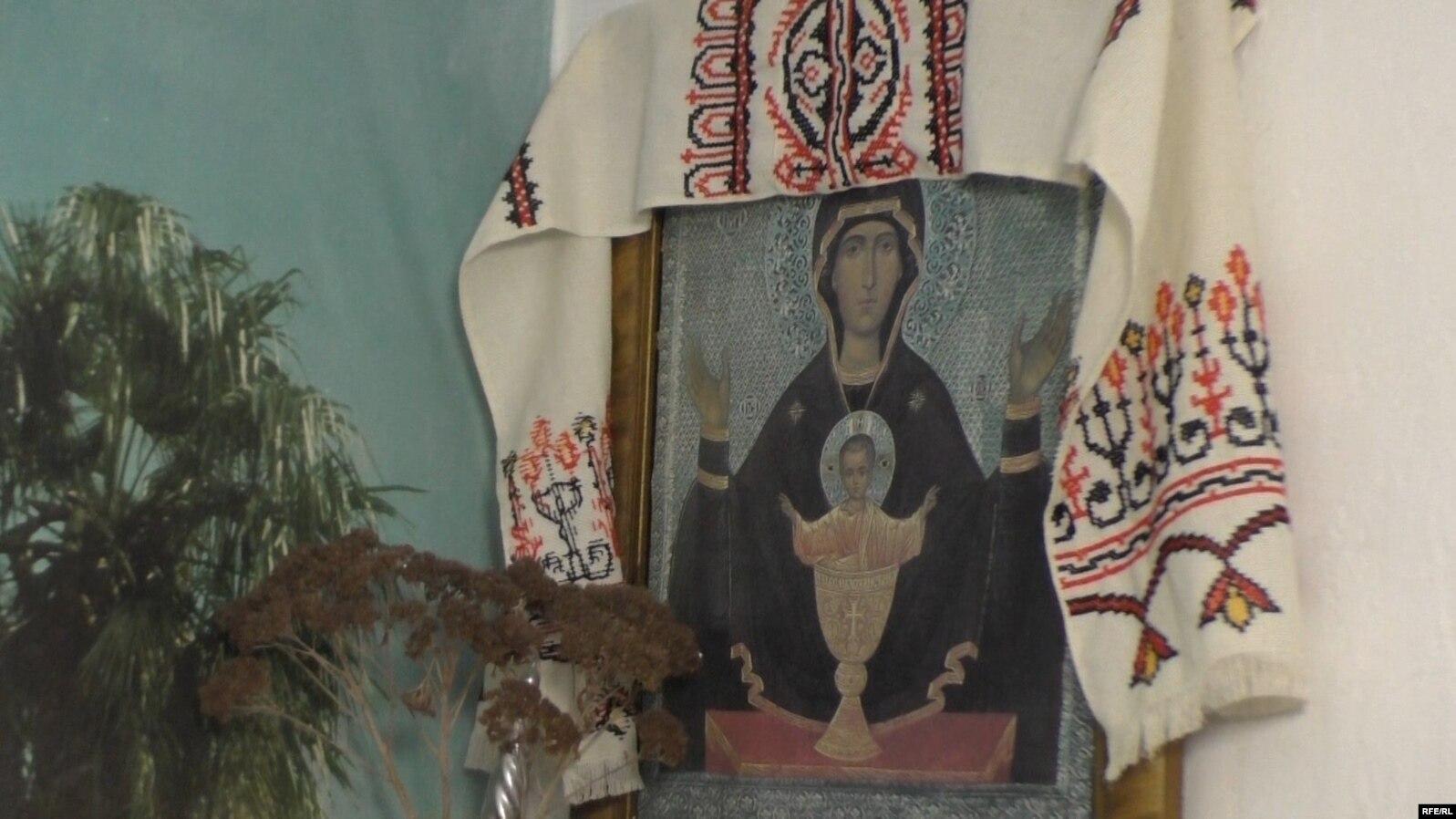 Ікона в будинку пані Теодозії