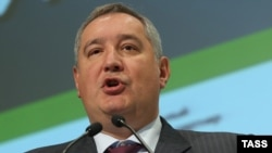 Russia's Deputy Prime Minister Dmitry Rogozin (file photo)