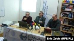 Zagreb: Predstavljanje istraživanja o mogućnosti korupcije u obrambenom sektoru, 30. siječanj 2013.
