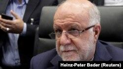Министр нефтяной промышленности ИранаБижанЗангане, Вена, 30 ноября, 2017