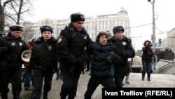 Ռուսաստան - Քաղաքացիական ակտիվիստների բողոքը Սահմանադրության օրը, Մոսկվա, 12-ը դեկտեմբերի, 2015թ.
