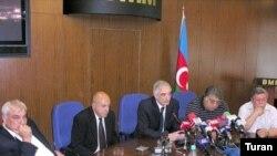 Qarabağa və Ermənistana gedən Azərbaycan ziyalılarının mətbuat konfransı, Bakı, 29 iyun 2007