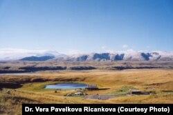 Алайские горы на российско-монгольской границе.