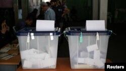 Kuti të votimit, ilustrim.