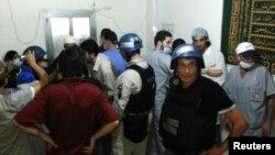 Inspektori UN prikupljaju svedočenja, 26. avgust 2013.