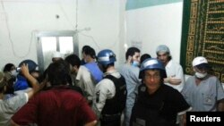 بازرسان سازمان ملل در دمشق