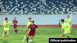 Uzbekistan - photo from the game between Pakhtakor and Navbakhor football club, 2 October 2014