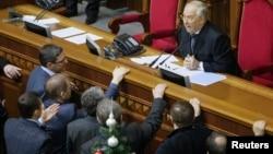 Заседание парламента Украины. Киев, 16 января 2014 года.