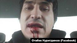 Андижонлик блогер Отабек Нуритдинов.