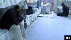 داخل یکی از سلولهای بند زنان زندان اوین