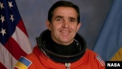 Leonid Kadenyuk was part of the U.S. Space Shuttle Columbia's crew on a mission in 1997.