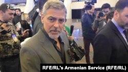 Джордж Клуни в Армении