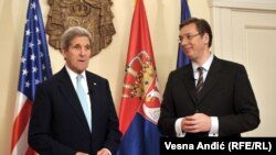 Džon Keri i Aleksandar Vučić