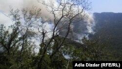 Požar na Ruištu kod Mostara
