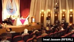 """ندوة موسيقية في قاعة """"عثمان العبيدي"""" في بغداد"""