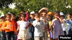 Armenia -- Children at an orphanage.