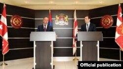 Հայաստանի և Վրաստանի պաշտպանության նախարարների համատեղ ասուլիսը Թբիլիսիում, արխիվ
