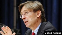 Peter Wittig, Germany's UN ambassador, is calling for a global debate on electronic surveillance.
