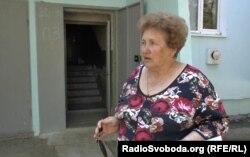 Мешканка Луганська Ніна Бельченко