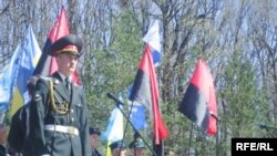 Ceremonies were held in Rivne to mark the 65th anniversary of the battle.