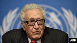 I dërguari i Kombeve të Bashkuara dhe Ligës Arabe për krizën në Siri, Lakhdar Brahimi.