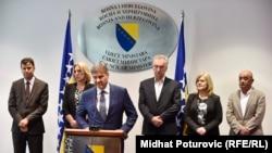 Konferencija za medije nakon dogovora o Mehanizmu koordinacije