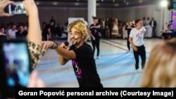Goran Popović je aplikaciju video slučajno, na Instagramu