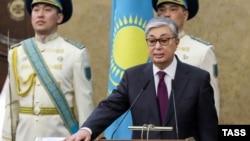 Касым-Жомарт Токаев вступает в должность президента Казахстана