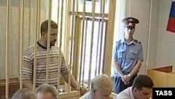 Евгений Ищенко в зале Волгоградского городского суда