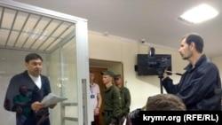 Кирилл Вышинский в суде. Херсон, 1 июня 2018 года