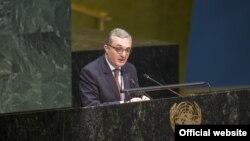 ՄԱԿ-ում Հայաստանի մշտական ներկայացուցիչ Զոհրաբ Մնացականյան, արխիվ