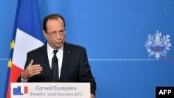 Presidenti francez Francois Hollande