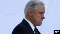 Ministrul american de justiție Jeff Sessions