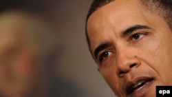 U.S. President Barack Obama delivers his speech on financial reform Washington, D.C.