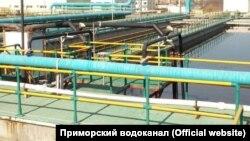 """Очистные сооружения """"Примводоканала"""" во Владивостоке"""