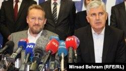Bakir Izetbegović (L) i Dragan Čović (R)