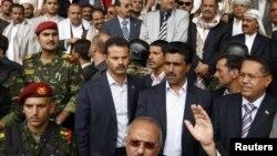 Јеменскиот претседател Али Абдула Салех