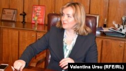 Interim Prime Minister Natalia Gherman