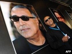 Regizorul Abbas Kiarostami la Festivalul Filmului de la Munchen în 2010